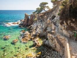 Costa Brava blog - 6.nap: Megszelídíthetetlen partokon: Lloret de Mar