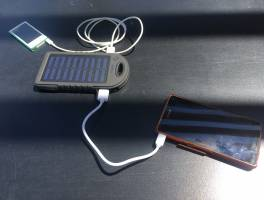 Solar Charger - nincs többé lemerült mobil